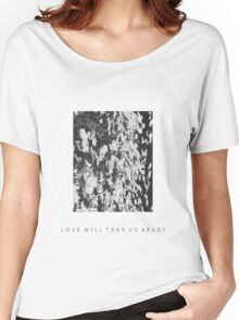 LOVE WILL TEAR US APART-Warped Flowers Women's Relaxed Fit T-Shirt