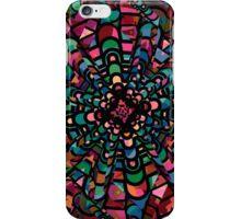 Pink Psychedelic Kaleidoscope Pattern   iPhone Case/Skin
