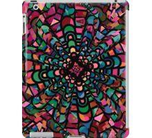 Pink Psychedelic Kaleidoscope Pattern   iPad Case/Skin