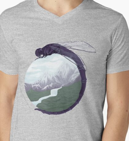 Dirty Paws Mens V-Neck T-Shirt