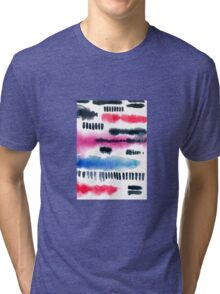 Abstract watercolor painting Tri-blend T-Shirt