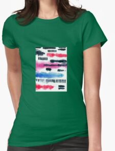 Abstract watercolor painting Womens Fitted T-Shirt