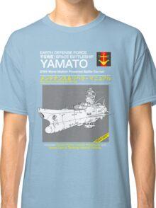 Battleship Yamoto Service and Repair Manual Classic T-Shirt
