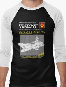 Battleship Yamoto Service and Repair Manual Men's Baseball ¾ T-Shirt