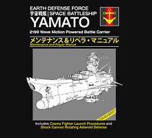 Battleship Yamoto Service and Repair Manual Unisex T-Shirt