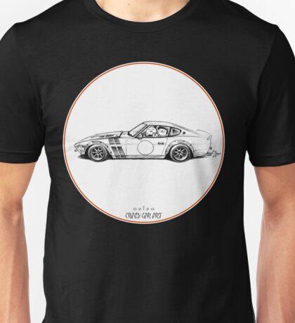 Crazy Car Art 0001 Unisex T-Shirt
