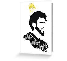 J. Cole Greeting Card