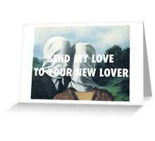 SEND MY LOVE - THE LOVERS Greeting Card