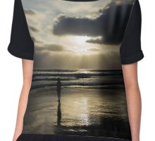 Ocean Rays Chiffon Top