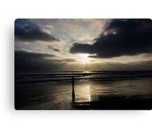 Ocean Rays Canvas Print