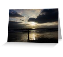Ocean Rays Greeting Card