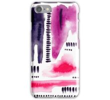 Abstract watercolor pattern iPhone Case/Skin