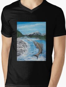 Pacific Northwest catch of the Day Mens V-Neck T-Shirt