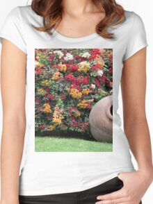 Larco Gardens Women's Fitted Scoop T-Shirt