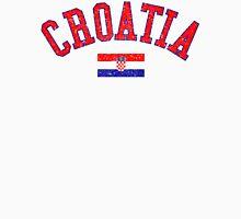 Croatia Flag Vintage Unisex T-Shirt