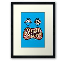 Monstrous Realization Framed Print