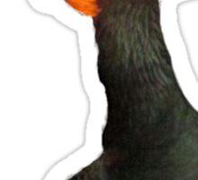 Flaming Duck meme Sticker
