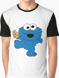 Cookie Monster Baby Graphic T-Shirt