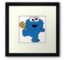 Cookie Monster Baby Framed Print