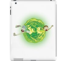 Rick And Morty Spin iPad Case/Skin