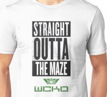 Straight Outta The Maze Unisex T-Shirt