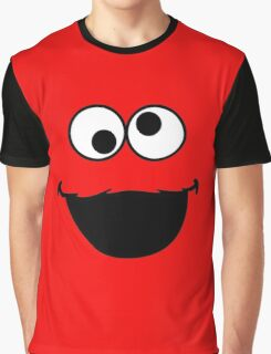 Elmo Face Graphic T-Shirt