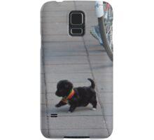 Ecuador. Quito. Man and his Puppy. Samsung Galaxy Case/Skin