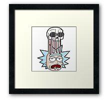 Rick And Morty illustrasion Framed Print