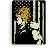 Super Saiyan Vegeta Canvas Print