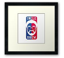 Uncle Drew NBA Framed Print