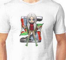 Mia loves her graffiti sneakers Unisex T-Shirt