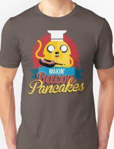 Makin Bacon Pancakes - Adventure Time Jake Unisex T-Shirt