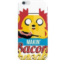Makin Bacon Pancakes - Adventure Time Jake iPhone Case/Skin