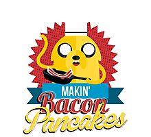 Makin Bacon Pancakes - Adventure Time Jake Photographic Print