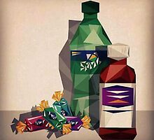 Surp Sprite & Jolly Ranchers by mrnorfside