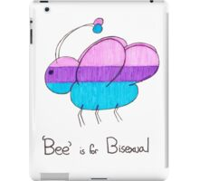 'Bee' is for Bisexual iPad Case/Skin