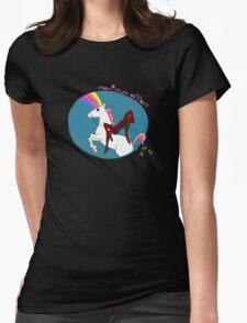 Deadpool - maximum effort Womens Fitted T-Shirt