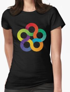 Rings Womens Fitted T-Shirt