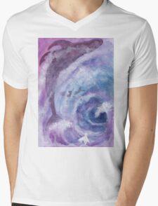 20 Mens V-Neck T-Shirt