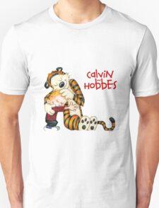 huggie Calvin And Hobbes Unisex T-Shirt