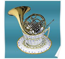 Dunking a French Horn Poster