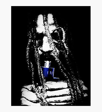 Bob Marley Vaping Photographic Print