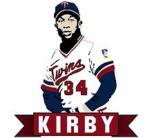 Kirby Puckett - Air Puckett Photographic Print