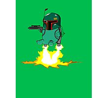 Bulba Fett (Star Wars and Pokemon Parody) Photographic Print