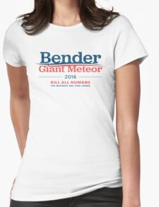 Bender Giant Meteor 2016 Womens Fitted T-Shirt