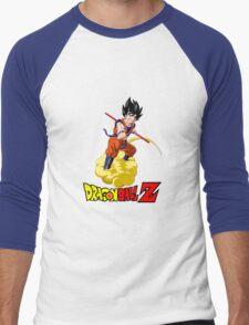 Dragon Ball Z - Son Goku with Kinton Cloud Men's Baseball ¾ T-Shirt
