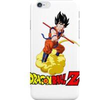 Dragon Ball Z - Son Goku with Kinton Cloud iPhone Case/Skin