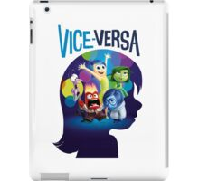 VICE-VERSA INSIDE OUT iPad Case/Skin