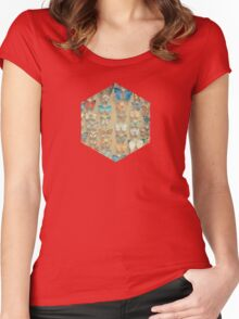 The Butterfly Collection II Women's Fitted Scoop T-Shirt
