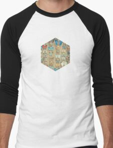 The Butterfly Collection II Men's Baseball ¾ T-Shirt